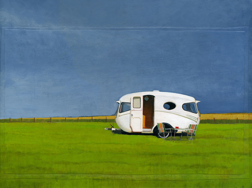 "based on photo taken by Hilary Walker for the book <u><a href=""http://www.mycoolcaravan.com"">My Cool Caravan</a></u>"